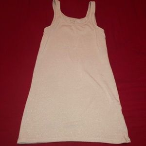 Sparkly night out tank top